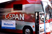 C-SPAN Road to the White House Tour bus