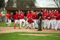 Central College Baseball vs. Wartburg College. Game 1, March 24, 2012