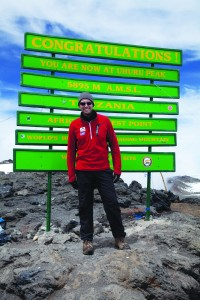 Above and Beyond Cancer Kilimanjaro Climb 2012.