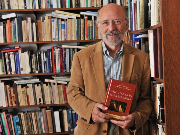 "Walter Cannon, professor of English, recently co-edited the book ""Who Hears in Shakespeare?: Shakespeare's Auditory World, Stage and Screen."""