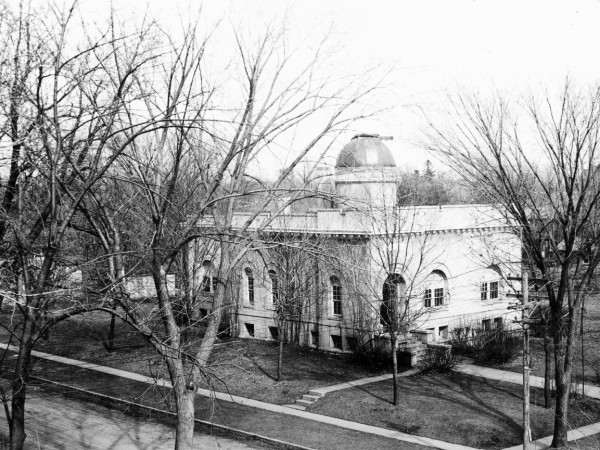 The old, old library came before Geisler and the one transformed into Lubbers Center for the Visual Arts.