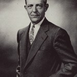 Rev Gerrit Vander Lugt was Central's president from 1946-1960.