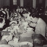 The All Veterans' Society was established after the war to promote social events for veterans, like the Christmas Banquet and Sadie Hawkins Day.