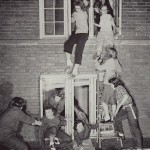 "Homecoming was a time for hijinks, including a planned ""escape"" by the women of Graham Hall."