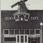 Central Park Café was a favorite hang-out among students—and their cherry pie and milkshakes were renowned.