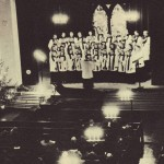 The A Cappella Choir has always been a popular ensemble on campus. One of their biggest concerts was the Christmas Vespers service.
