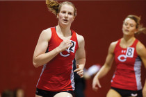 Senior Camie Kibee and her teammates pulled a surprise in the 4x400-meter relay, taking fourth at the national meet and helping the Dutch score a 13th-place team finish, the program's best since 2002.