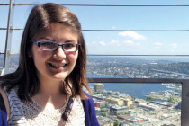 Ashley Radig spent the summer in Seattle working on diabetes research.