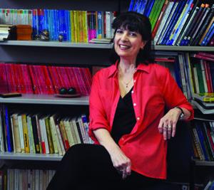 Associate professor of French Nicole Kaplan