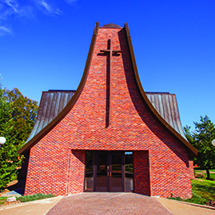 Central's Chapel was constructed in 1982