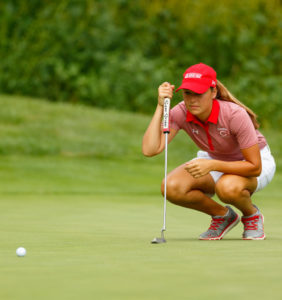 Cierra Pulse and the Central women's golf team were in Houston, Texas for the NCAA Division III Championships.