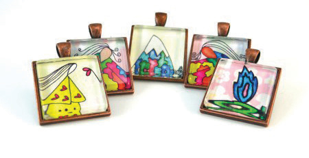 Emily Lupita designs in multiple mediums