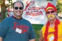 Grand Lemmings John Mitchell '95 and Troy Den Herder '92 returned for the 2017 Lemming Race.