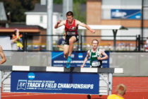Mark Fairley '18 came from behind to take the NCAA Division III title in the 3,000-meter steeplechase. Photo: d3photography.com
