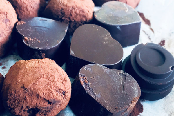 Chocolate pieces from the Behind Bars: Revealing Chocolate's Bitter Sweetness course
