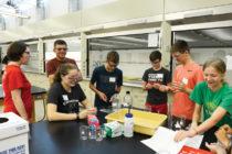 STEM Exploration event at Central College