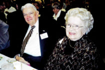 Frank Moore '49 and his wife, Grace