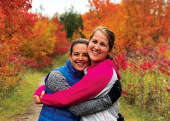 Former roommates: Melanie Hopkins '12 and Abby Lukensmeyer Bobst '12